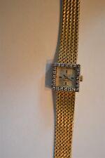 Omega Golden Ladies watch 24 diamonds