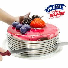 Cake Slicer Stainless Steel Circular Baking Layered Tool Kit Adjustable