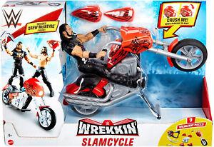 WWE Wrekkin Slamcycle Vehicle Playset
