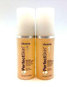 2 Pack Perfectskin 1 Kardashian Cleanser All Skin Types Facial Face Wash 50ml KK