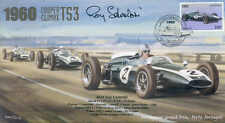1960c cooper-climax T53s & lotus 18, porto F1 couverture signé roy salvadori