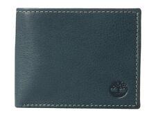 Timberland Passcase Bifold vera Pelle Navy Portafogli Porta carte di credito
