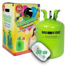 13 l (2,65€  / 1 l) Helium Ballongas Flasche f. 50 Ballons Taufe  Hochzeit