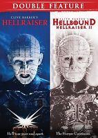Horror Double Feature (Hellraiser / Hellbound: Hellraiser 2) New DVD! Ships Fast
