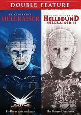 Horror Double Feature (Hellraiser / Hellbound: Hellraiser 2) New DVD! Ships Fast