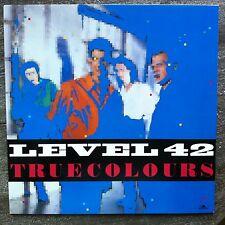 Level 42 – True Colours- , Polydor – 823 542-1, Original LP 1984