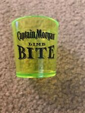 CAPTAIN MORGAN LIME BITE NEON SHOT GLASS