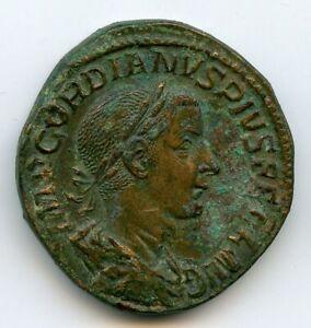 Gordien III (238-244) Sesterce Rome 241 Rv/ PMTR P IIII COS II PP Qualité