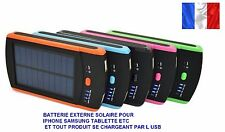 BATTERIE SOLAIRE MOBILE POWERBANK 6000mah  IPHONE IPAD SAMSUNG SONY LG /TABLETTE