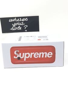 Supreme Blu Burner Phone Red Logo New DS in hand FW18