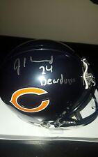 JORDAN HOWARD signed autographed CHICAGO BEARS mini football helmet PROOF w/COA