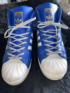 Size 13- adidas Pro Model Blue- FV5723