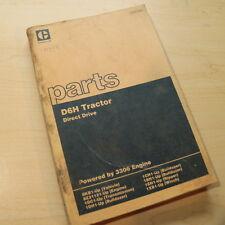 CAT Caterpillar D6H Tractor Dozer Parts Manual Book DIRECT DRIVE spare catalog