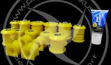 MAZDA MX3 Front & Rear Full Suspension Bush KIT POLYURETHANE bushes kits