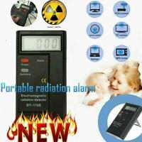 Electromagnetic Radiation Detector Digital Meter Dosimeter Test Counter Geiger W