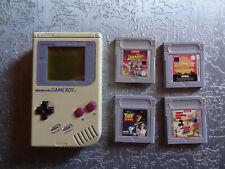 Nintendo Game Boy Classic mit 4 Spiele Disney Duck Tales, König der löwen, micky