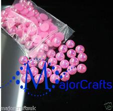 2000 un. Rosa AB 1.5mm piso nuevo Medio Redondo Perlas De Resina Arte en Uñas Gemas C08
