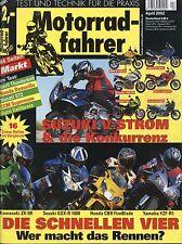 Motociclisti 4/02 2002 BUELL Firebolt xb9r CCM r30 DUCATI st2 kvf650 QUAD zx6r