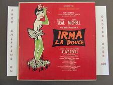 SEALED IRMA LA DOUCE ORIGINAL BROADWAY CAST SOUNDTRACK LP OL 5560