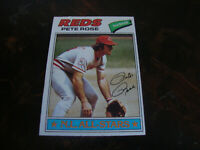 1977 Topps Baseball---#450 Pete Rose