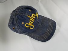 Personalized JAKE 78 Blue Jean Baseball Cap Hat Name 1978 One Size Plastic Strap