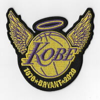 NBA Los Angeles Lakers Iron on Patches Embroidered Patch Kobe Bryant 1978-2020