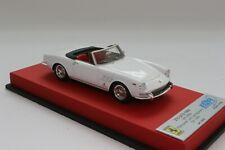 BBR CAR45CLB Ferrari 275 GTS  S/N 6889  in white J. von Neumann  LE 20 pcs 1:43
