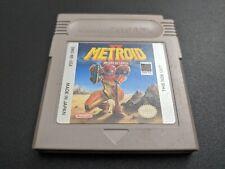 Metroid II Return of Samus 2 Nintendo Game Boy Original NRMT cond cart authentic
