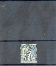 TAHITI Sc 10(YT 12)F-VF USED, 1893 15c BLUE, $100