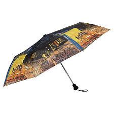 """Von Lilienfeld Regenschirm Vincent van Gogh """" Nachtcafe """" Taschenschirm AC"""