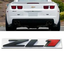 Car Metal ZL1 Badge Side Fender Emblem Sticker For Chevrolet Chevy Camro Chevy