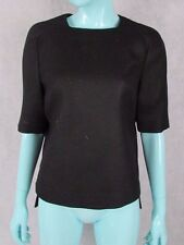 STELLA MCCARTNEY SIZE 40 UK 8 100% WOOL MAINLINE EVENING TOP AUTHENTIC
