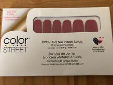 Color Street Colorstreet Nail Polish Strips In Cran-tastic Crantastic