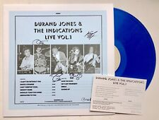 DURAND JONES AND THE INDICATIONS - LIVE VOL 1 HAND SIGNED RECORD AUTOGRAPHED NEW