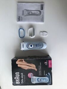 Braun Silk Epil Cordless Wet & Dry Lady Shaver Two Extra Attachments LS 5160 Use