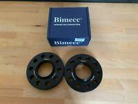 BIMECC ALLOY WHEEL SPACERS 20MM 5X100 57.1MM PAIR AUDI A3 S3 8L