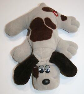 "Tonka 8"" Pound Puppy  1985 Gray with Dark Brown Spots, EUC"
