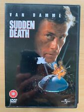 Sudden Death 1995 Jean Claude Van Damme Die Hard in a Stadium Action Film Uk Dvd