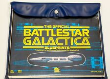1978 Blueprints Set of The Official Battlestar Galactica with All Schematics