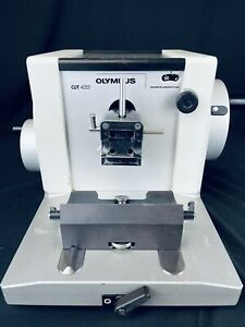 Olympus CUT 4055 Motorized Microtome Free Shipping