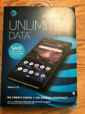 AT&T NOKIA 3.1 A BRAND NEW PREPAID CELL PHONE 32GB - Black