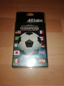 jeu sega megadrive champions world class soccer neuf sous blister rigide
