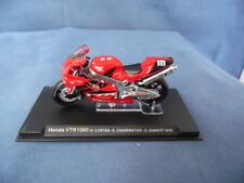 MODELLINO MOTOCICLETTA METALLO-1/24-HONDA VTR 1000-COSTES-CHARPENTER-GIMBERT