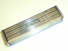 "DUNHILL ""CORONA"" STERLING SILVER SEMI-AUTOMATIC LIGHTER - 1935 - NEW YORK - USA"