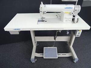 New Juki 8100E Lock Stitch Industrial Sewing Machine With Energy Saving Motor