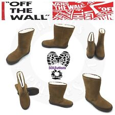 Vans Slip-on Boot (Suede) Ermine/Dark Gum W10.5