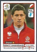 PANINI EURO 2012- #074-POLSKA-POLAND-BORUSSIA DORTMUND-ROBERT LEWANDOWSKI