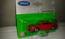 PORSCHE 911 (996)  Carrera S in rot . Welly 1:60. NEU & OVP.