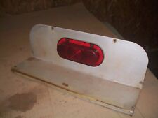 White 2 702 852 105 Farm Tractor Fender Insert With Tail Light Very Nice