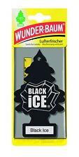 (1,53€/Einheit) 5 STÜCK WUNDERBAUM BLACK ICE LUFTERFRISCHER DUFTBAUM AUTODUFT